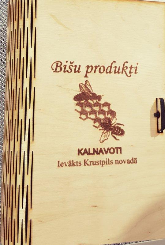 """Koka dāvanu kastīte """"Grāmata"""", 10x18x6cm"""