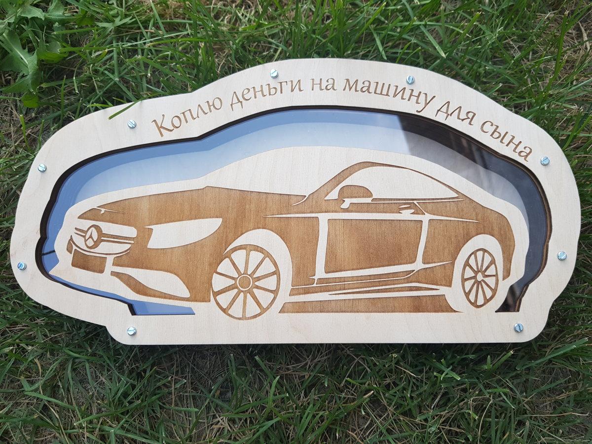 Koka krājkase Auto