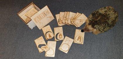 Koka alfabēts ar bilžu kartiņām