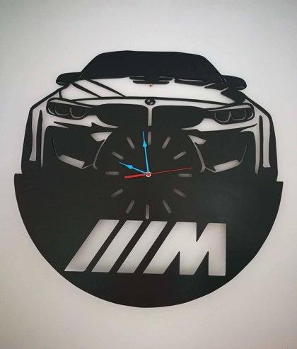 BMW koka pulkstenis 70cm diametrs